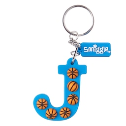 Basketball Alphabet Keyring