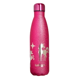 Believe Glitter Stainless Steel Drink Bottle