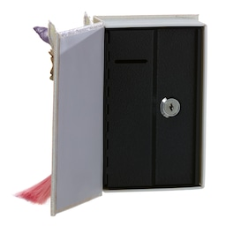 Unicorn Book Money Box Safe