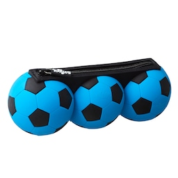 Football Trio Silicone Scented Pencil Case