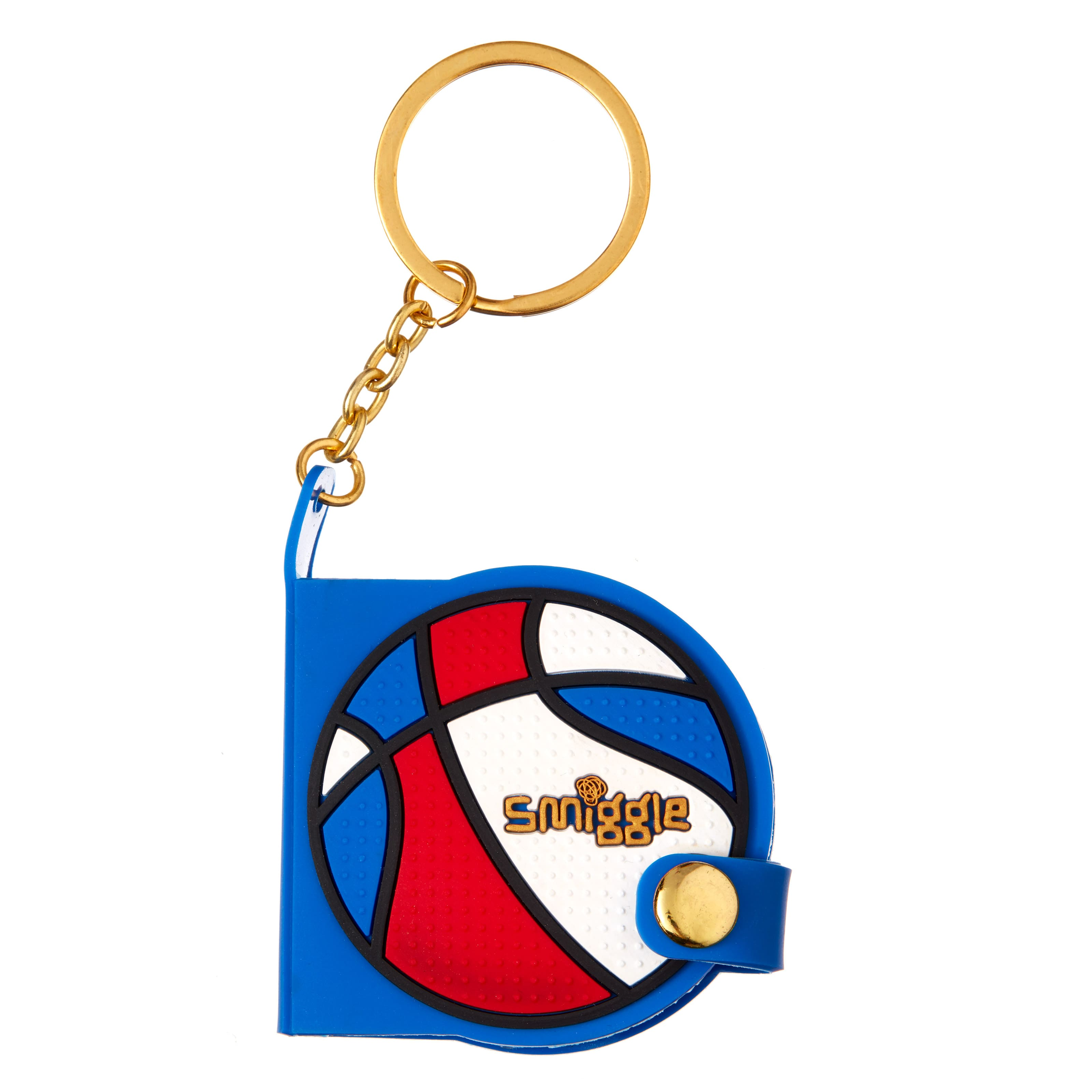 Bball Tiny Notebook Keyring