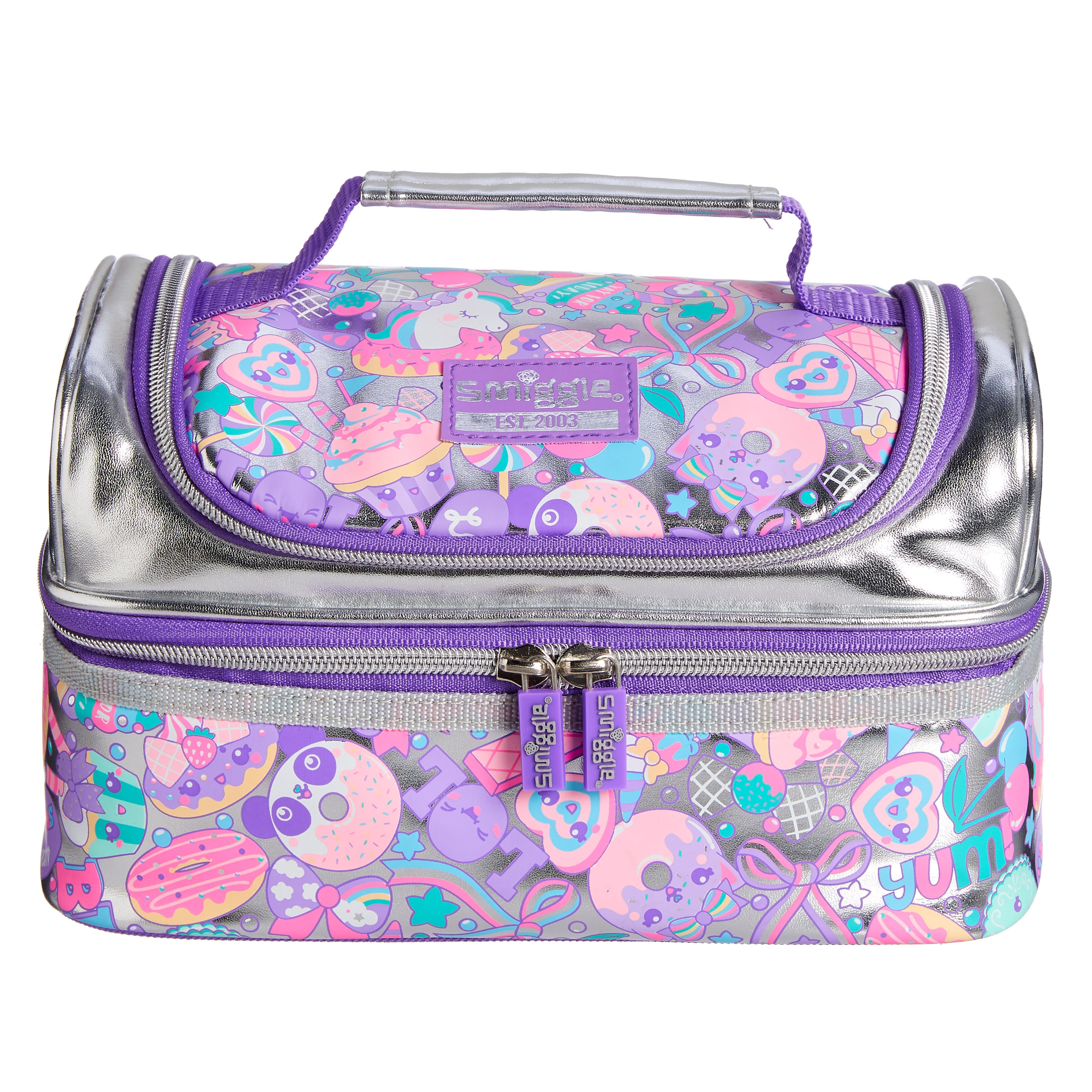 Flashy Double Decker Lunchbox
